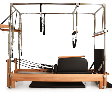 Private Pilates™ Premium Wood Cadillac-Reformer Combo Bundle - CASA Pilates Equipment