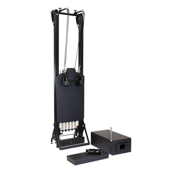 STOTT PILATES® Onyx SPX® Max Reformer with Vertical Stand - Pilates Reformers Direct