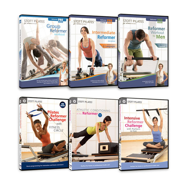STOTT PILATES® Reformers Series 6-DVD Set - Pilates Reformers Direct