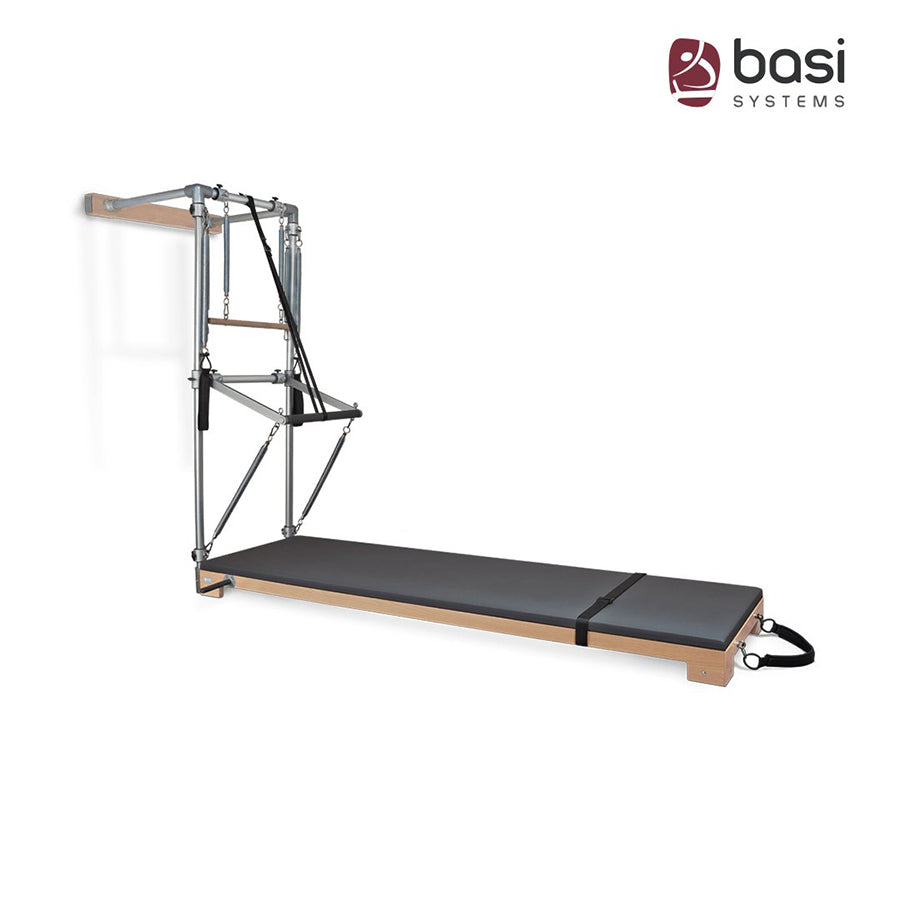 BASI SYSTEMS Pilates WALL TOWER with Raised Mat - Pilates Reformers Direct