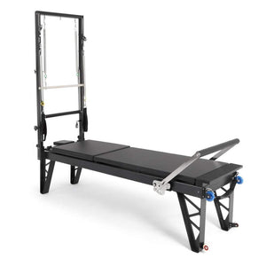 ELINA PILATES® Aluminum Reformer with Tower Bundle - Pilates Reformers Direct