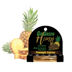 GoGreen Hemp CBD 200mg Pre-Filled Pineapple Express Cartridge