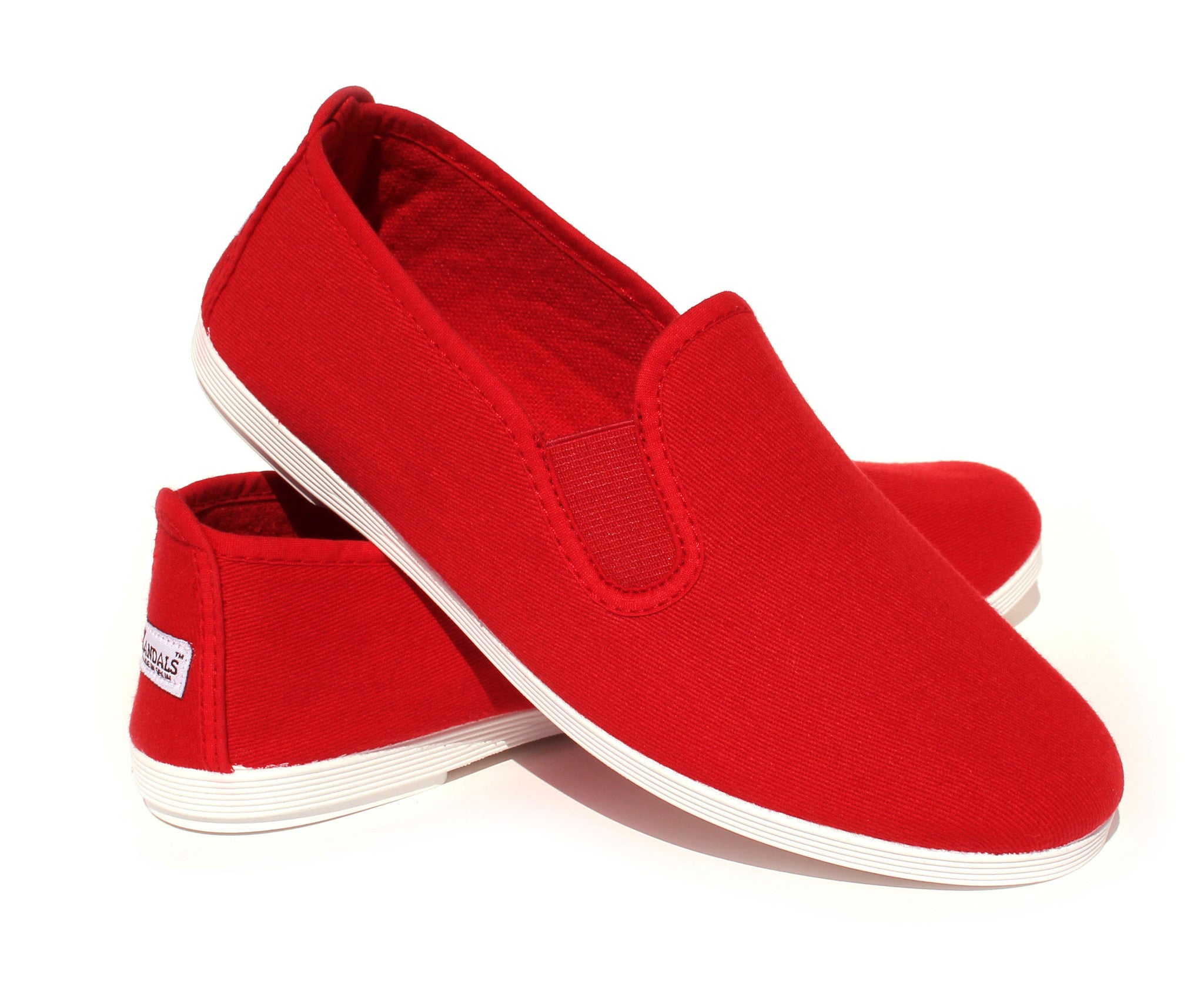 Eco Vegan Shoes Red