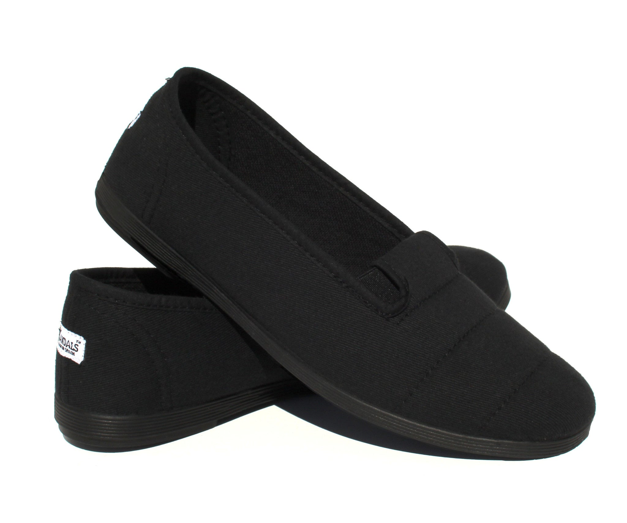 Women s Canvas Shoes - Envir All Black ... 035673242b