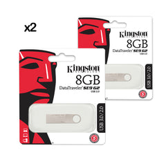 2X PENDRIVE USB KINGSTON METAL DTSE9G2 3.0 /8GB