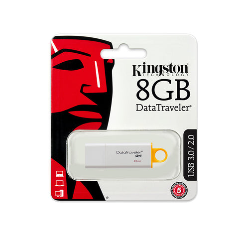PENDRIVE USB KINGSTON 8GB DATA TRAVELER 3.0 I G4 DTIG4