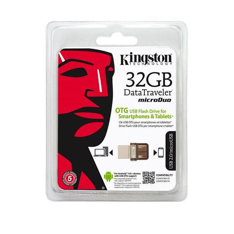 PENDRIVE OTG kingston 2.0 DTDUO/32GB