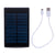 POWER BANK SOLAR 7.200mAh DOBLE USB