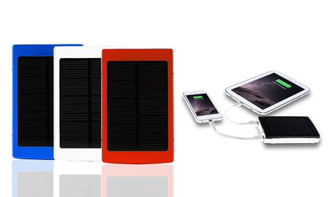 Powerbank Solar con doble salida USB