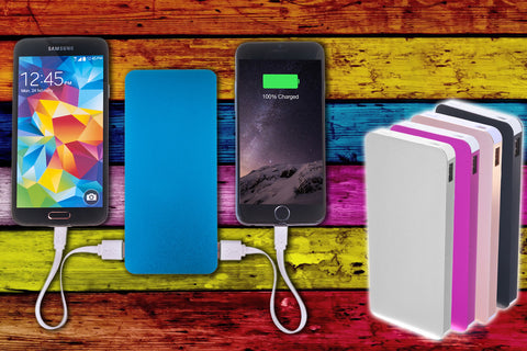POWERBANK 10400mAh DOBLE SALIDA USB