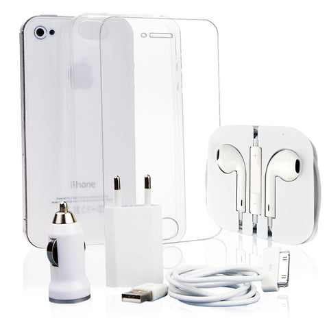 Pack super iPhone 4/4S Blanco