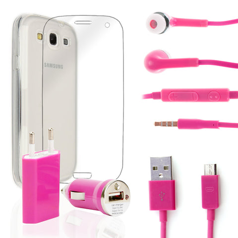 Pack super Samsung Galaxy S3 Rosa