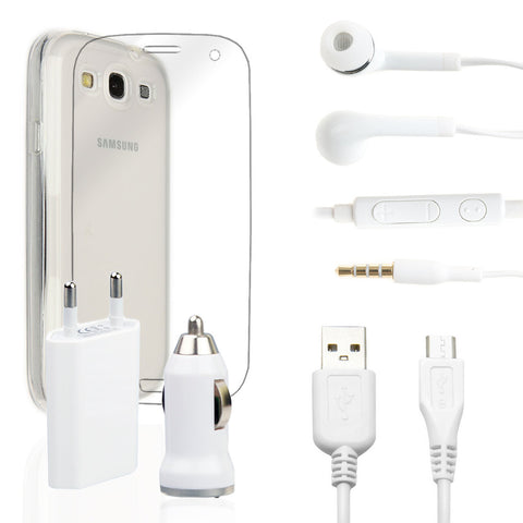 Pack super Samsung Galaxy S3 Blanco