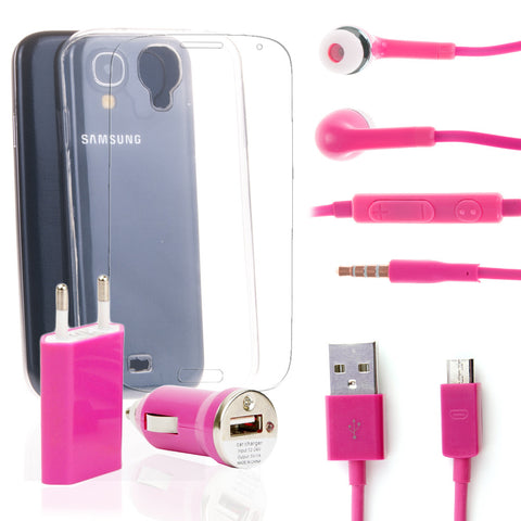Pack super Samsung Galaxy S4 Rosa