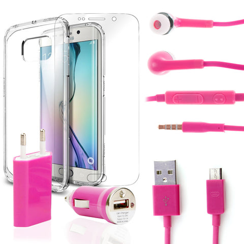Pack super Samsung Galaxy S6 Rosa