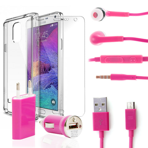 Pack super Samsung Galaxy Note 4 Rosa