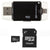 DAM I FLASH DEVICE  para IPHONE/IPAD 8 PINS + MICRO SD 32GB CLASE 10