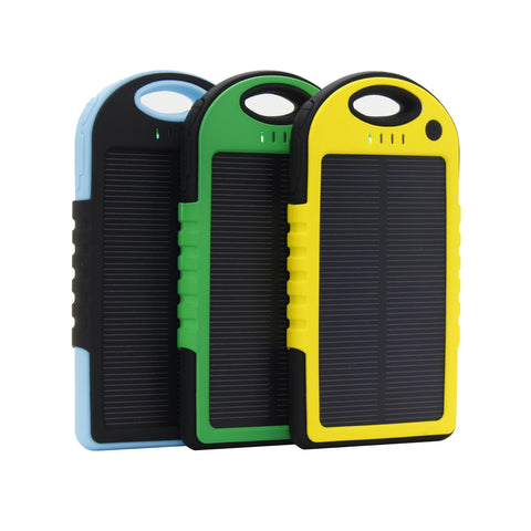 Powerbank solar de 5000mAh