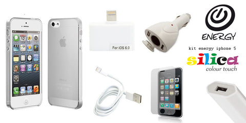 KIT ENERGY SILICA IPHONE 5