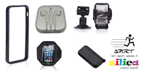 KIT SPORT SILICA IPHONE 5