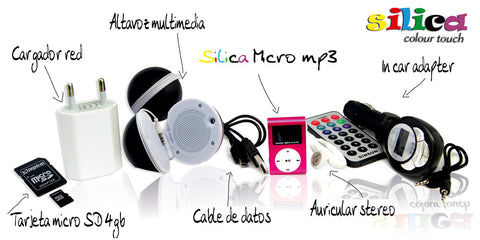 PACK Silica MICROmp3