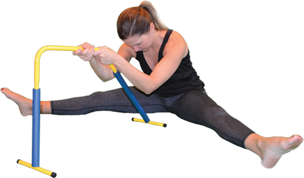 MYSTRETCHBAR Seated stretch - spread eagle