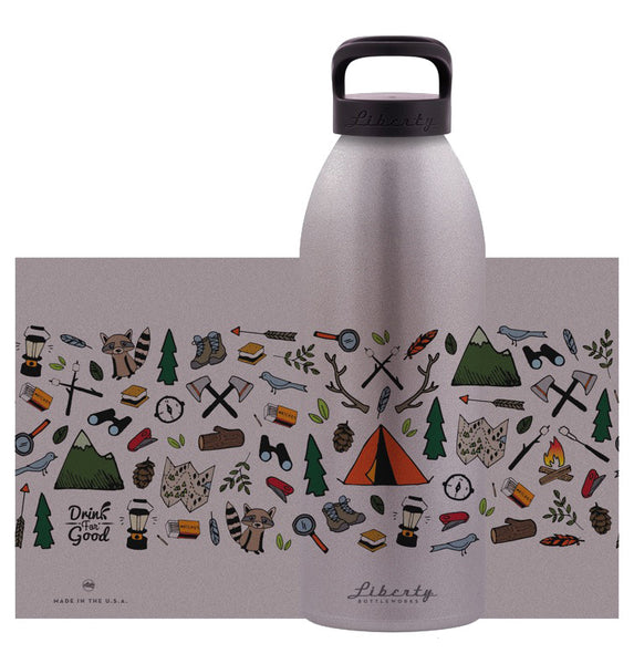 Drink For Good - Nature Bottle - Reusable Water Bottle