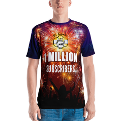 El Salvador 4K 1 Million Unisex T-shirt (English)