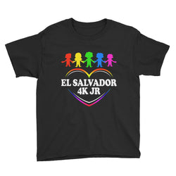El Salvador 4K Lightweight Fashion T-Shirt with Tear Away Label SV12355