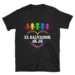 El Salvador 4K Jr Short-Sleeve Unisex T-Shirt SV74510