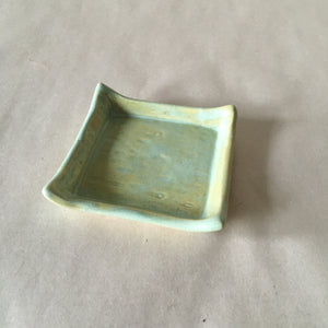 Green Birch Texture Trinket/Incense Tray