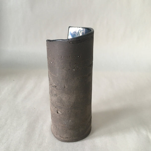 "5.5"" Metallic  Birch Vase"