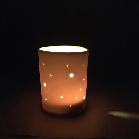 Dots Votive / Tea Light Candle Holder