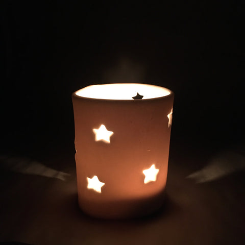 Star Votive / Tea Light Candle Holder