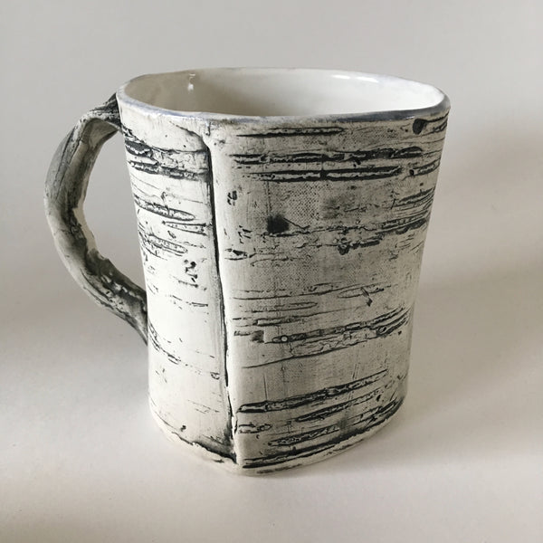 16oz White Birch Mug