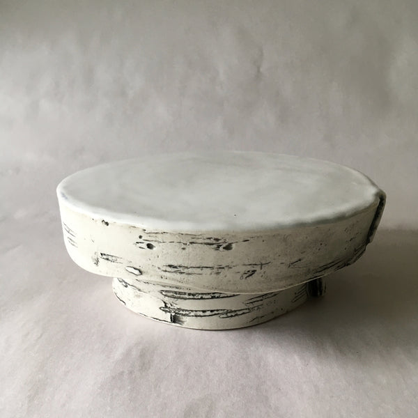 Small White Birch Pastry/Cake Stand