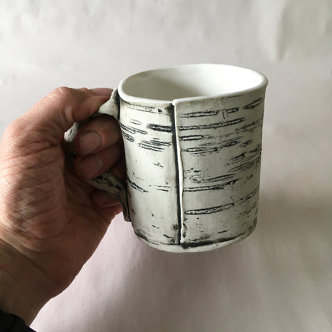 12oz White Birch Mug