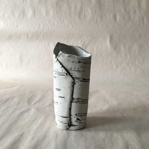 White Birch Bud Vase