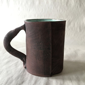 16oz Green Reclaimed Wood Mug