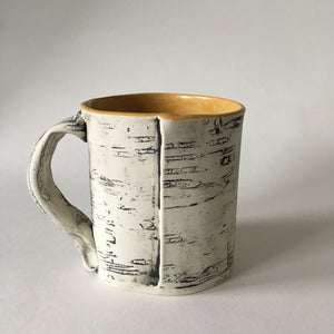 16oz Orange Yellow Birch Mug