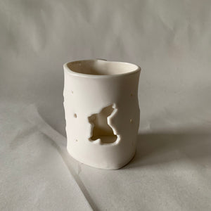 Rabbit Votive / Tea Light Candle Holder