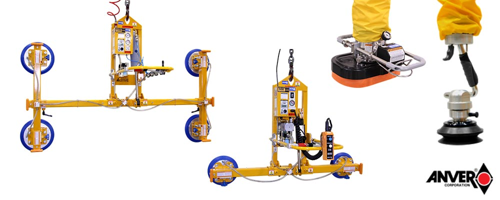 Anver Vacuum Lifters and Ergonomic Lifters Group