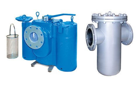 Eaton manual pipeline strainers group