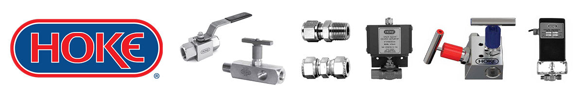 Hoke Controls valves actuators quick connects and instrument manifolds group