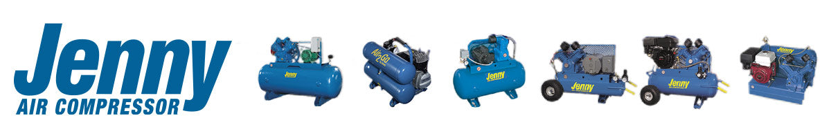 Jenny Air Compressors portable and industrial stationary compressors group