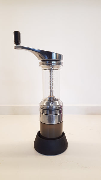The Lido E grinder from Orphan Espresso