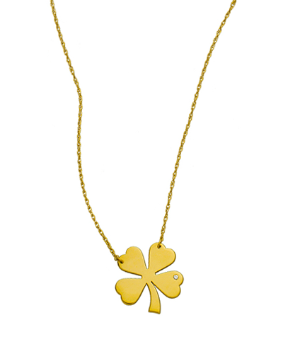 Clover Diamond Necklace