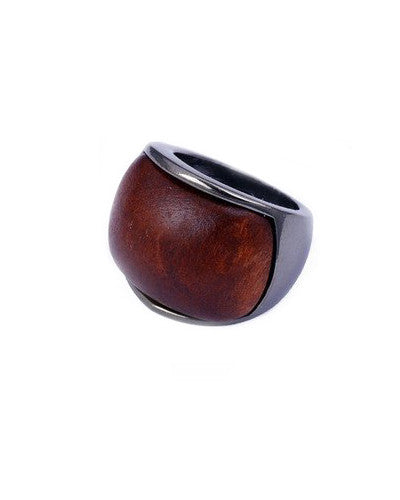 Wooden Statement Ring