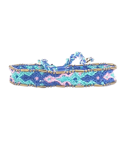 Beaded Trim Friendship Bracelet