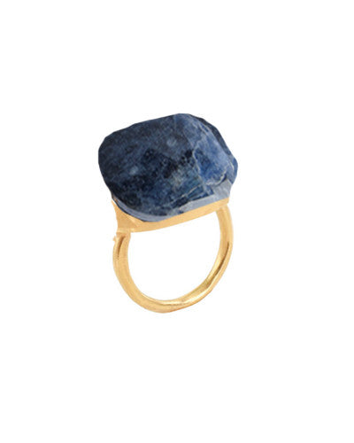 Sodalite Gemstone Ring